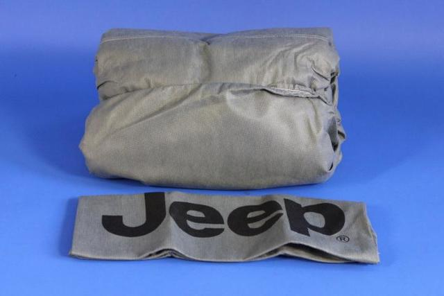 Cover, Vehicle, Jeep Logo, Gray - Mopar (82214229)