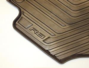 All-Weather Floor Mats (Front) - Black - Audi (42B-061-221-041)