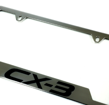 License Plate Frame, Cx-3 Logo