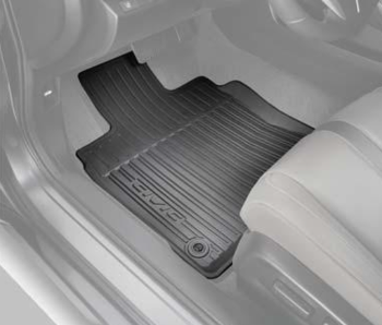 Floor Mats, All Season, High Wall - Honda (08P17-TBG-300A)