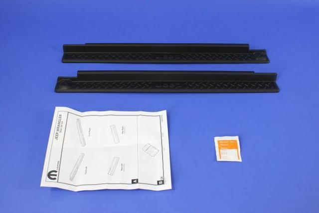 Black Door Sill Guard (2 Door)