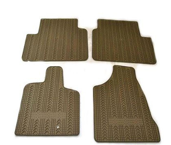 Floor Mats, All-Weather, Rubber, Black - Mopar (82215767AC)