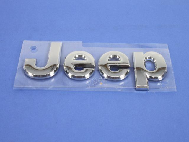 2011-2018 Jeep Grand Cherokee Chrome Hood Logo Emblem Badge Nameplate OEM - Mopar (5182390AB)