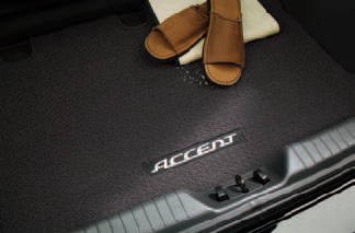 Carpeted Trunk Mat with Name