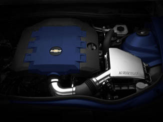 V6 Engine Cover Blue Ray