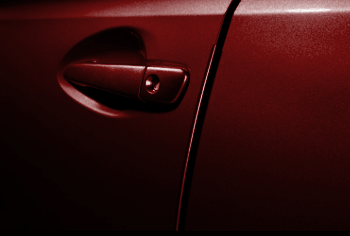 Door Edge Guards, Barcelona Red Metallic