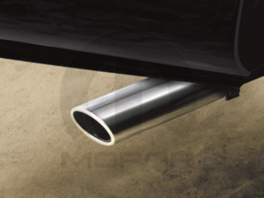 Exhaust Tip, Chrome