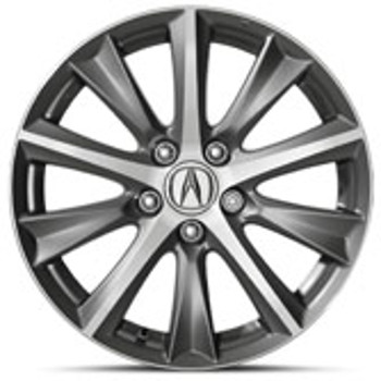 17-In Diamond-Cut Alloy Wheels