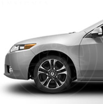 "18"" Wheels, Ebony Finish - Acura (08W18-TL2-200A)"