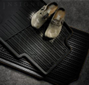 Floor Mats, All-Season, Black