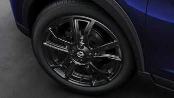 "17"" Alloy Wheel, Black Alloy"