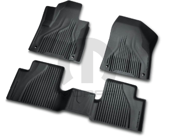 Mopar OEM All Weather Mats Floor Mat, Black - Mopar (82214855AB)