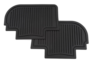 Floor Mats, All Weather, Rear - GM (19159598)