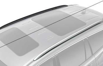 2019 2020 Honda Pilot 5 Door Roof Rail Caps Gloss Black 08l02 Tg7 100b Hondapartswd