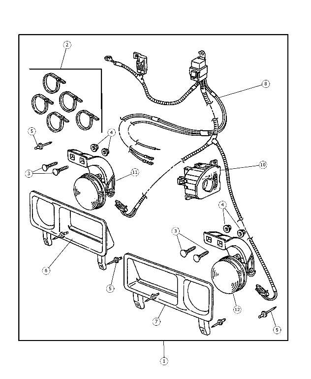 Fog L Kit Fascia Wiring Mopar 82204779: 94 Dodge Ram 1500 Trailer Wiring Diagram At Ultimateadsites.com