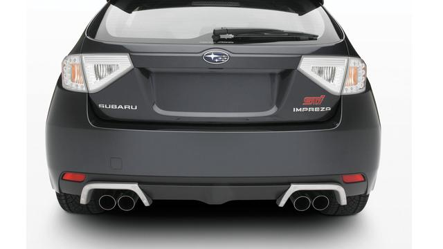 Sti Exhaust Tip Finisher - Subaru (E7710FG030)