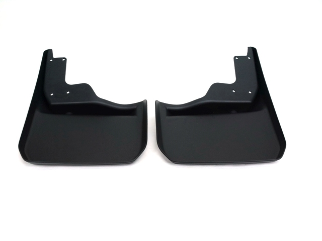 Deluxe Molded Splash Guards - Black - Rear - Mopar (82210232)