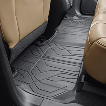 Floor Liners, All-Weather, Second Row - GM (84148093)