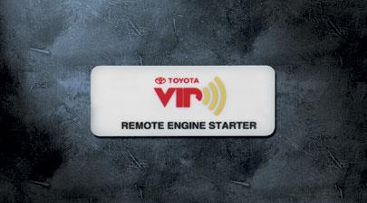 Remote Start, Hood Switch - Toyota (08586-42830)