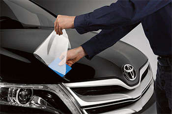 Paint Protection Film, -Hand & -Hand Fender Pieces