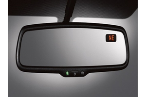 Auto-Dimming Rear View Mirror With E/C