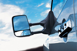 Tow Mirrors, Telescoping (W/Power/Heat)