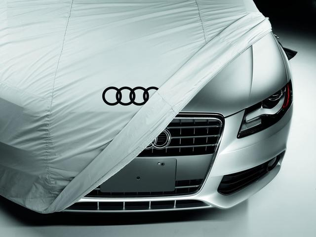 Outdoor Car Cover - Gray - Audi (ZAW-400-114)