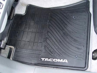 Floor Mats, All-Weather, Set Of Four, Black - Toyota (PT908-35002-02)