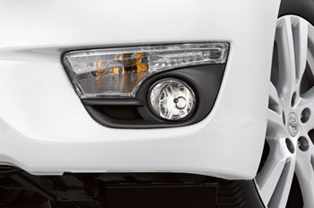 Fog Lights (Models W/Auto Headlights)