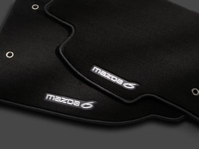 Floor Mats, Carpet - Mazda (0000-8B-H51B)