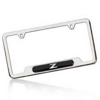 License Plate Frame, Z Logo