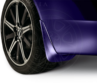 Splash Guards - Royal Blue Pearl - Acura (08P00-TK4-260)