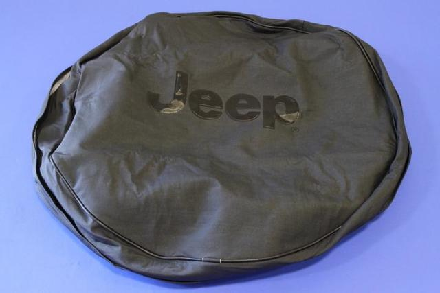 Cover, Spare Tire, Jeep Logo - Mopar (82203433AC)