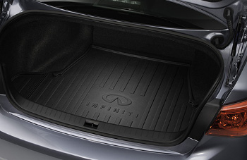 Cargo Tray, Black, (Models W/O Spare Tire)