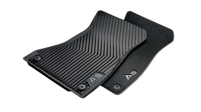 All-Weather Floor Mats - Front - Audi (8W7-061-221-041)