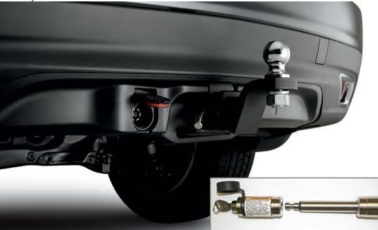 Towing Package, Hitch Ball 2""