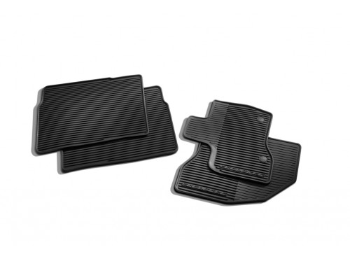Floor Mats, All Weather, And Set - Ford (DB5Z-7813086-BA)