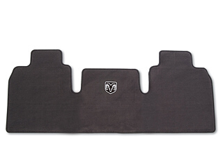 Floor Mats, Carpet, Rear, Slate - Mopar (82209563AC)