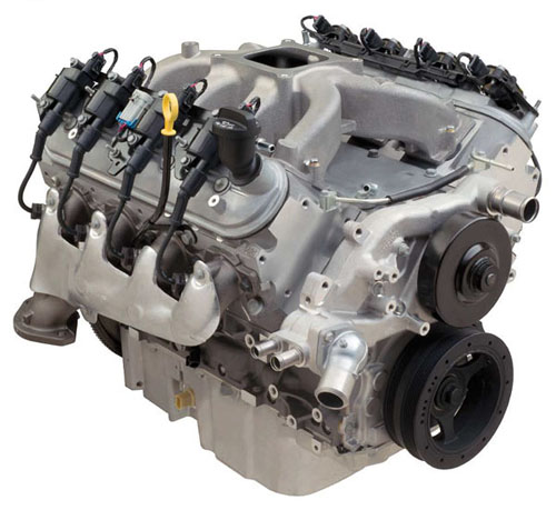 Chevrolet Performance Ls 376/515 Hp LS3 Carbureted