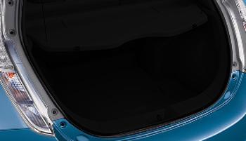 OEM Nissan Leaf Rear Black Cargo Mat 999E3-8Z010