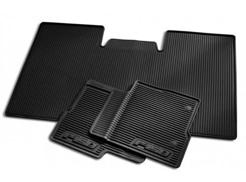 2009 Ford F-150 Floor Mats, All Weather Vinyl