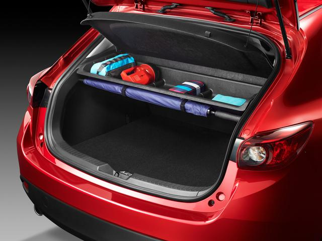 Cargo Area Storage Shelf - 2014-2018 ( Mazda 3 Hatchback only ) - Mazda (BJE3-V1-300)