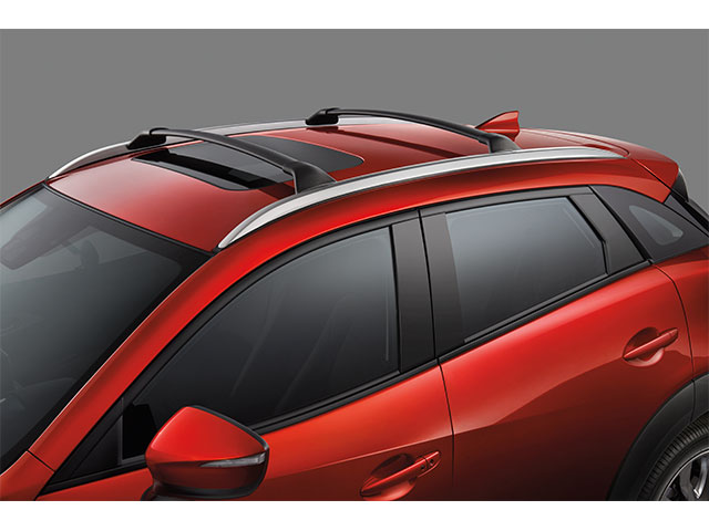 Roof Rack, Cross Bars - Mazda (0000-8L-S01)