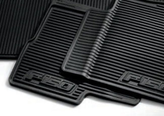 Floor Mats, All-Weather (Models W/ Sub-Woofer) - Ford (AL3Z-1613300-EA)