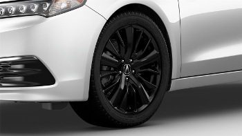 "19"" Wheel, Berlina Black Alloy"