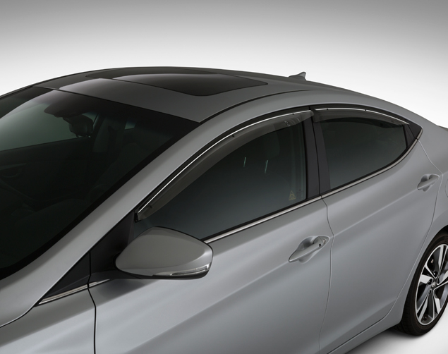 Door Visors & Door Visors - Hyundai (3X022-ADU0A) | hyundaiparts