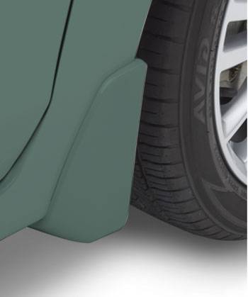 Splash Guards 4 Dr- Jasmine Green Metallic