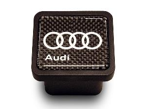 Carbon Fiber Trailer Hitch Cap - Audi (ZAW-092-702-B)