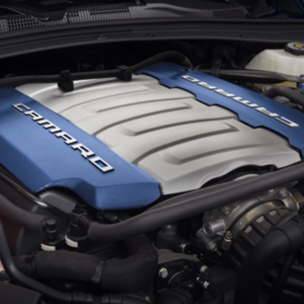LT1 Blue Engine Cover