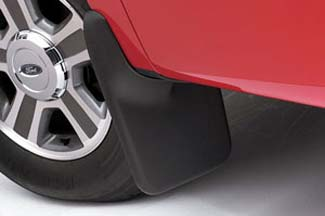 Splash Guards W/O Factory Wheel Lip Molding